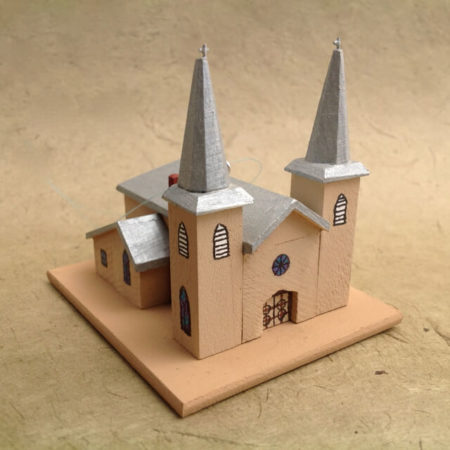 ANTON CHICO CHURCH MODEL
