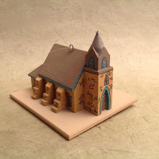BUEYEROS CHURCH MODEL