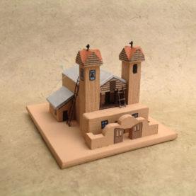SANTUARIO DE CHIMAYO CHURCH MODEL
