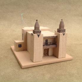 LAS TRAMPAS CHURCH MODEL