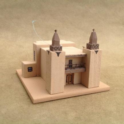 LAS TRAMPAS CHURCH MODEL