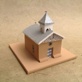 MACHO CANYON CHURCH MODEL