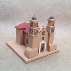 SAN MIGUEL, SOCORRO CHURCH MODEL