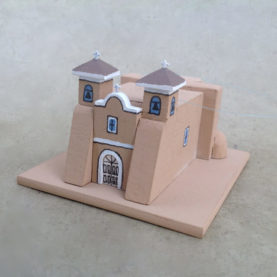 RANCHOS DE TAOS CHURCH MODEL