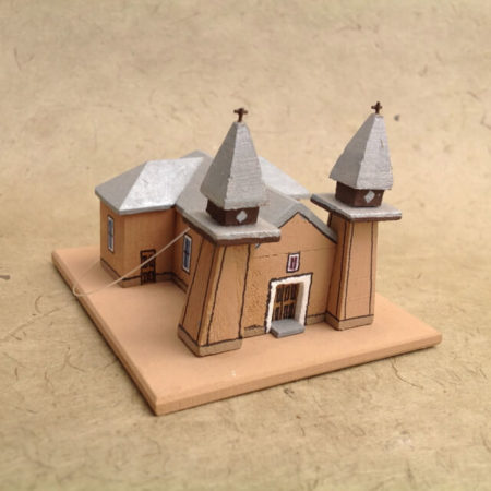 SAN YSIDRO, CORRALES CHURCH MODEL