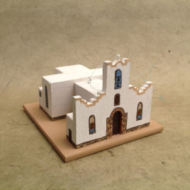 SOCORRO MISSION, TEXAS CHURCH MODEL