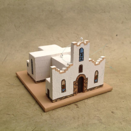 SOCORRO MISSION, TEXAS CHURCH MODEL