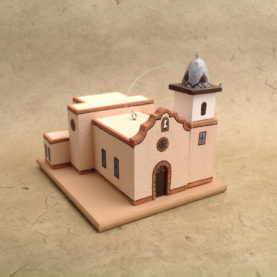 YSLETA DEL SUR, TEXAS CHURCH MODEL