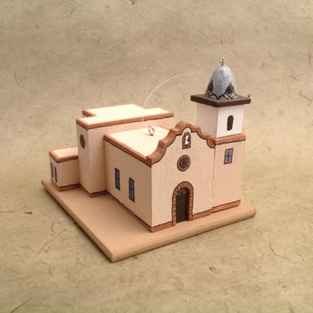 YSLETA DEL SUR, TEXAS CHURCH MODEL