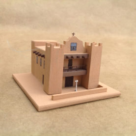 ZUNI PUEBLO CHURCH MODEL