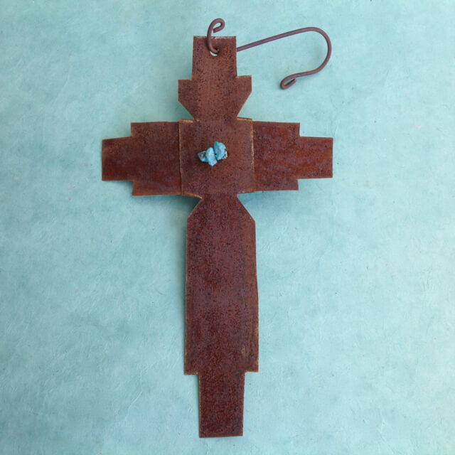 METAL CROSS BY BOBBY GARCIA