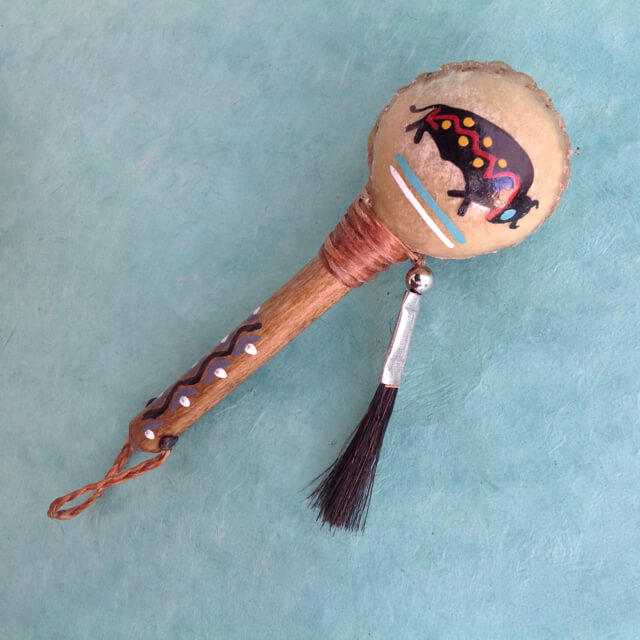 NAVAJO RATTLE ORNAMENT