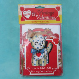 VINTAGE VALENTINES - KITTIES