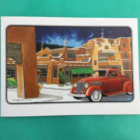 SANTA FE LA FONDA - 9 CARDS BOX BY DOUGLAS JOHNSON