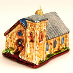 CHURCH OF THE HOLY FAITH GLASS ORNAMENT