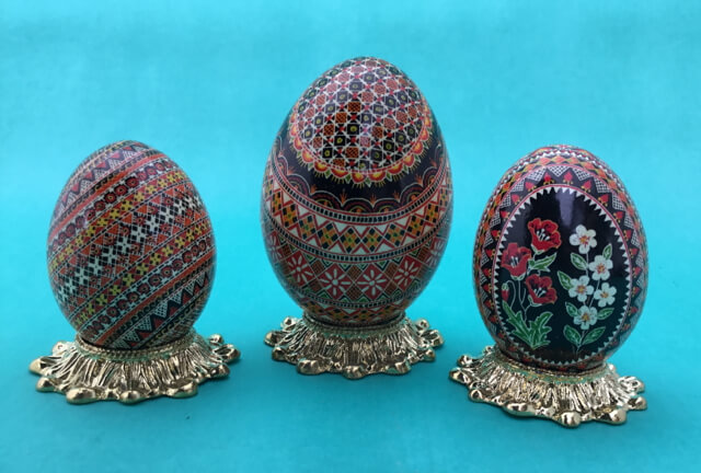 Pysanky Easter Egg Demonstration