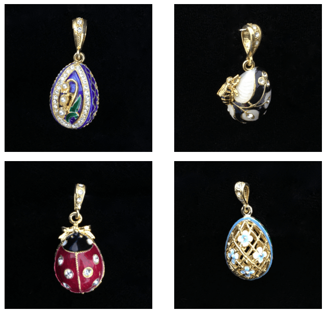 Faberge Russia Easter Charms