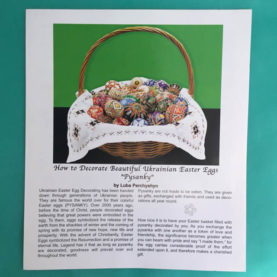 PYSANKY FULL COLOR INSTRUCTIONS