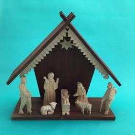 POLISH WOODEN NATIVITY