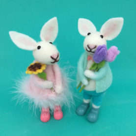 CUTE BUNNY FRIENDS - SET OF TWO