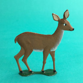 GERMAN PEWTER SUMMER MAMA DOE