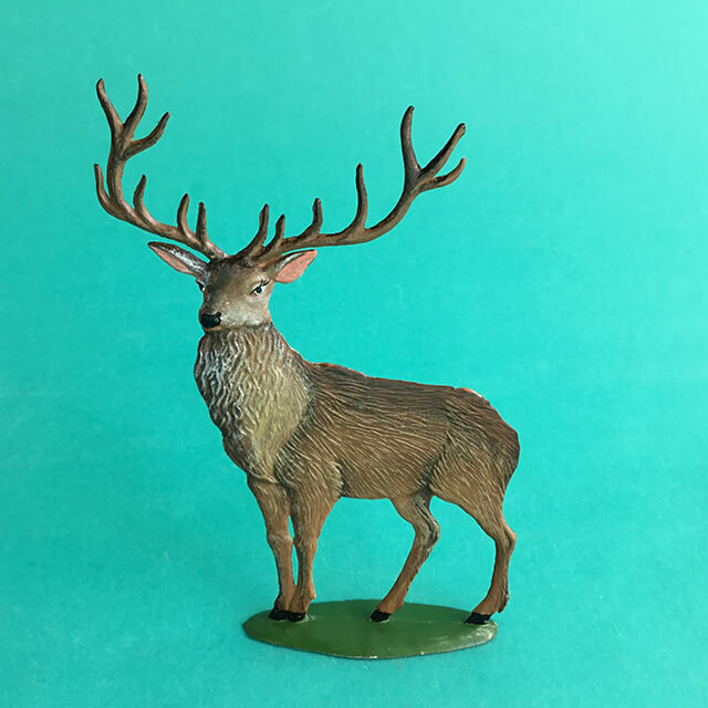 GERMAN PEWTER SUMMER PAPA BUCK