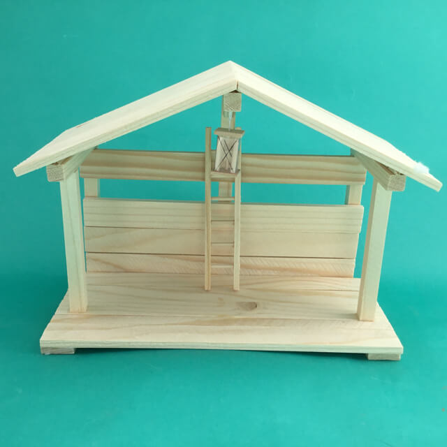 WOODEN STABLE FROM SLOVAKIA